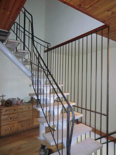 treppengel nder gel nder glasgel nder geschmiedet edelstahl handlauf handl ufe. Black Bedroom Furniture Sets. Home Design Ideas