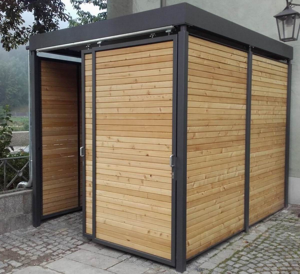 carports carport ger teschuppen gartenhaus m lltonnenhaus fahrradhaus. Black Bedroom Furniture Sets. Home Design Ideas