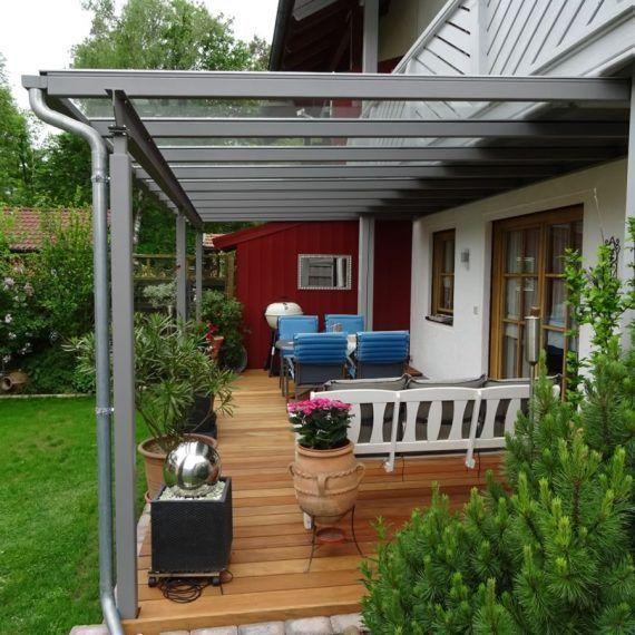 Terrassendach unter vorhandenem balkon jakob haider for Gartengestaltung carport