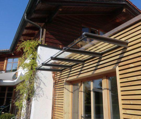 freitragendes Vordach in Burghausen