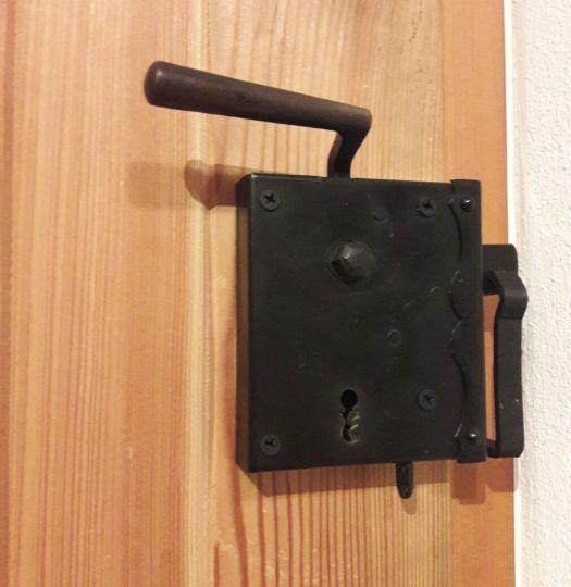 Kastenschloss für Holztüre nach alter traditioneller Ausführung