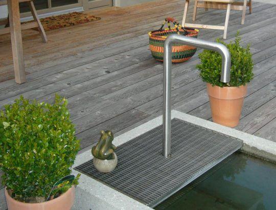 Wasserkreislauf Edelstahl Privathaus in Traunstein