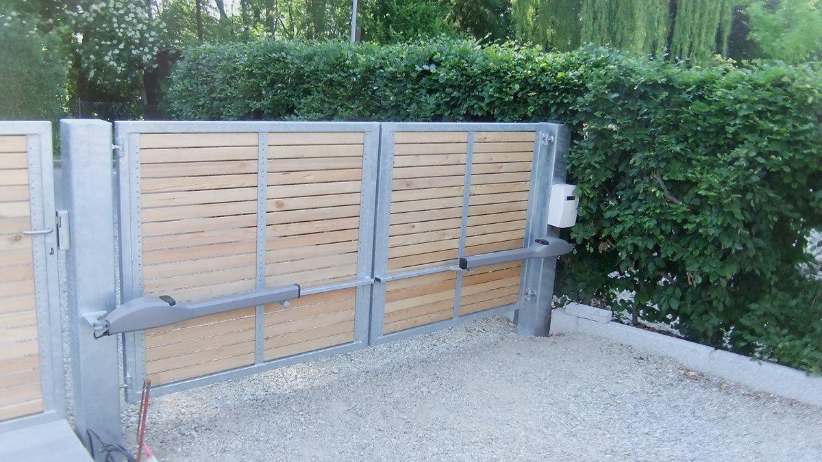 Gartentor Und Einfahrtstor Mit Torantrieb Jakob Haider Metall